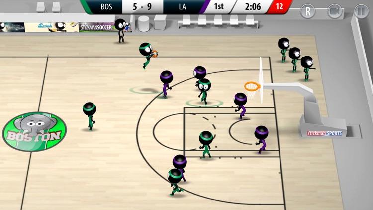 Stickman Basketball 2017 screenshot-3