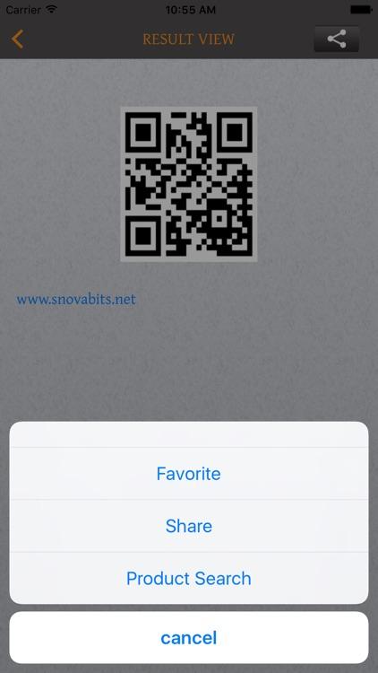 Bar/QR-Code Scan&Generator screenshot-4