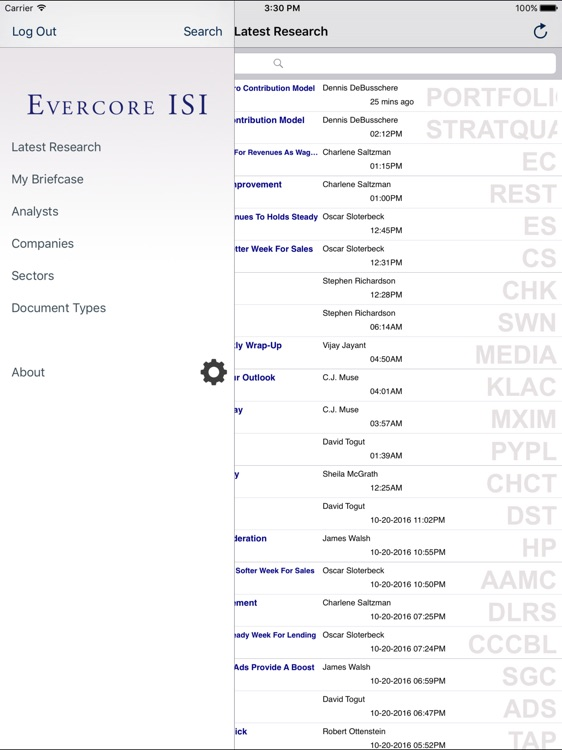 Evercore ISI screenshot-1