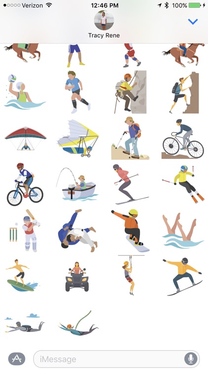 All Sport - Sticker Pack screenshot-3