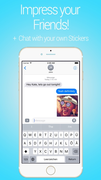 Cune Stickers - Make Your Own Sticker Emoji screenshot-4