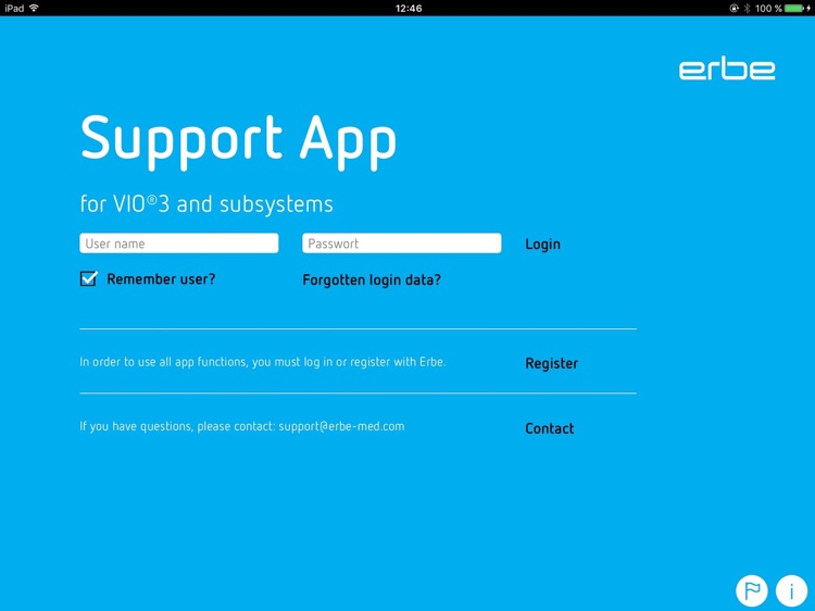 Erbe Support App screenshot-1