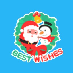 Christmas Best Wishes - Animated Stickers