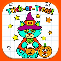 Color Book For Kids - Coloring Halloween Game.s