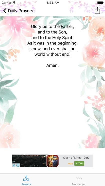 My Daily Prayers