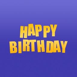 Birthday Stickers for iMessage : Happy Birthday