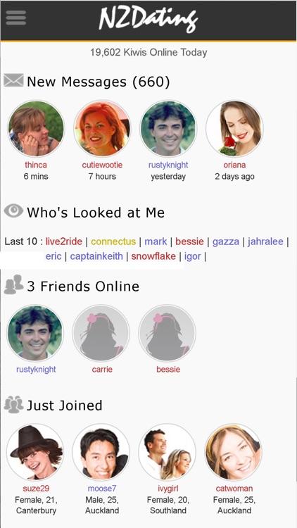 NZ dating mobil version