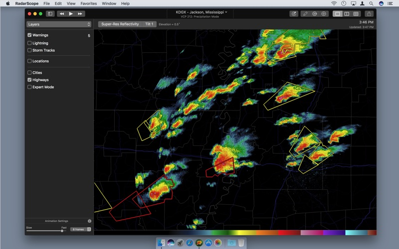 RadarScope Screenshots