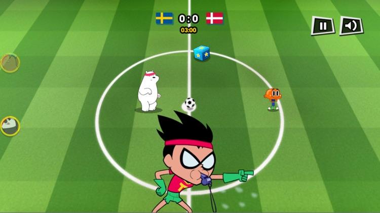 足球游戏 - 组建你的卡通世界杯足球国家队吧! screenshot-3