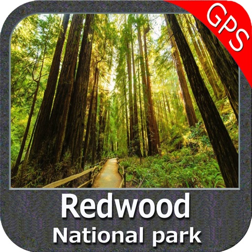 Redwood National Park - GPS Map Navigator