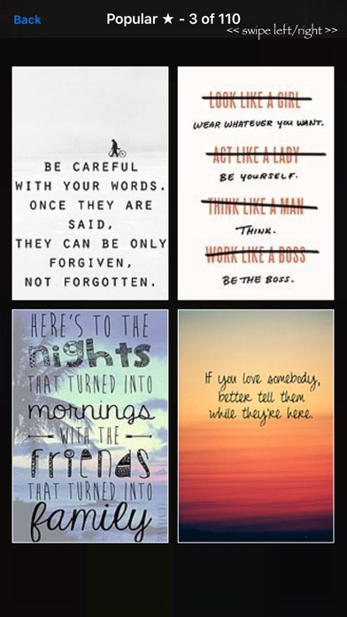 """Quotes"""" - Inspirational Sayings and Wallpapers app image"""