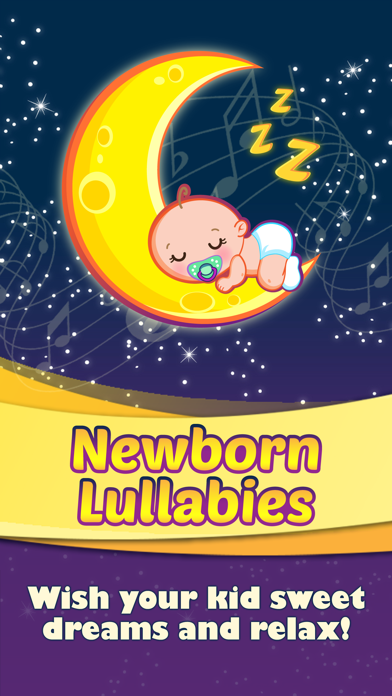 Newborn Lullabies Sweet Dreams Baby Soothing Music