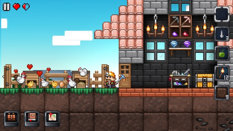 Junk Jack Retro screenshot-4