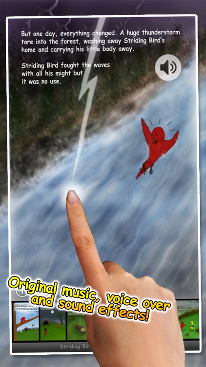 Striding Bird - An inspirational tale for kids screenshot-4