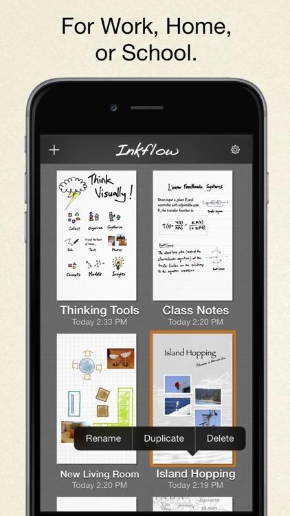 Inkflow Visual Notebook screenshot-4