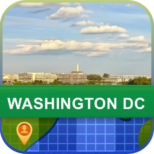 Offline Washington DC, USA Map - World Offline Maps