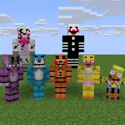 Skins for FNAF Edition - Best FNAF Skins available For Minecraft PE