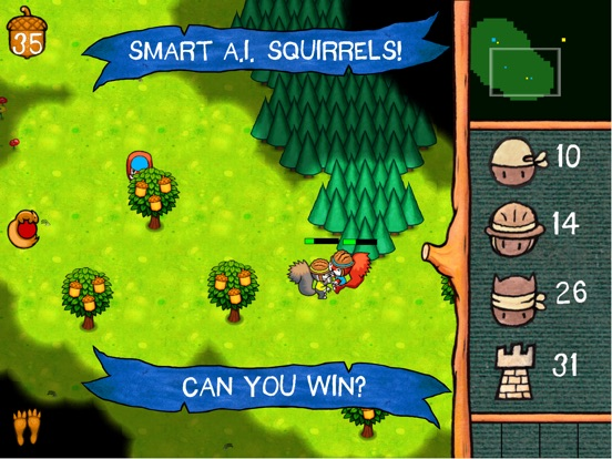 SquirrelWarz Screenshot