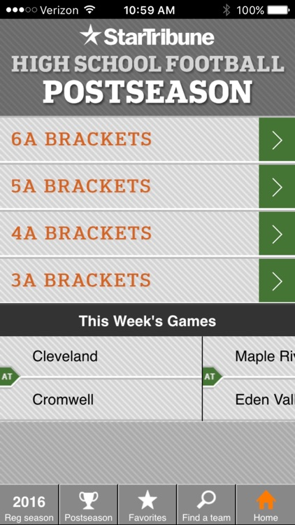 MN HS Football Scoreboard screenshot-0