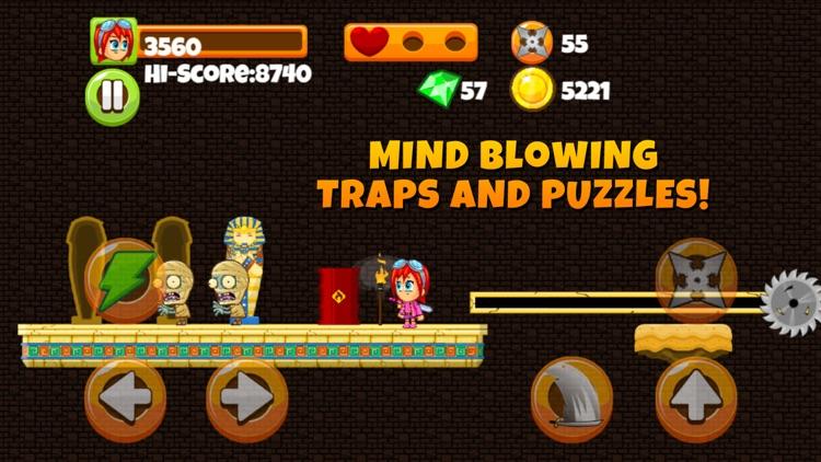 Ninja Kid vs Zombies - 8 Bit Retro Game screenshot-4