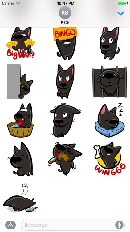 Little Dog - Cutest dog stickers for iMessage