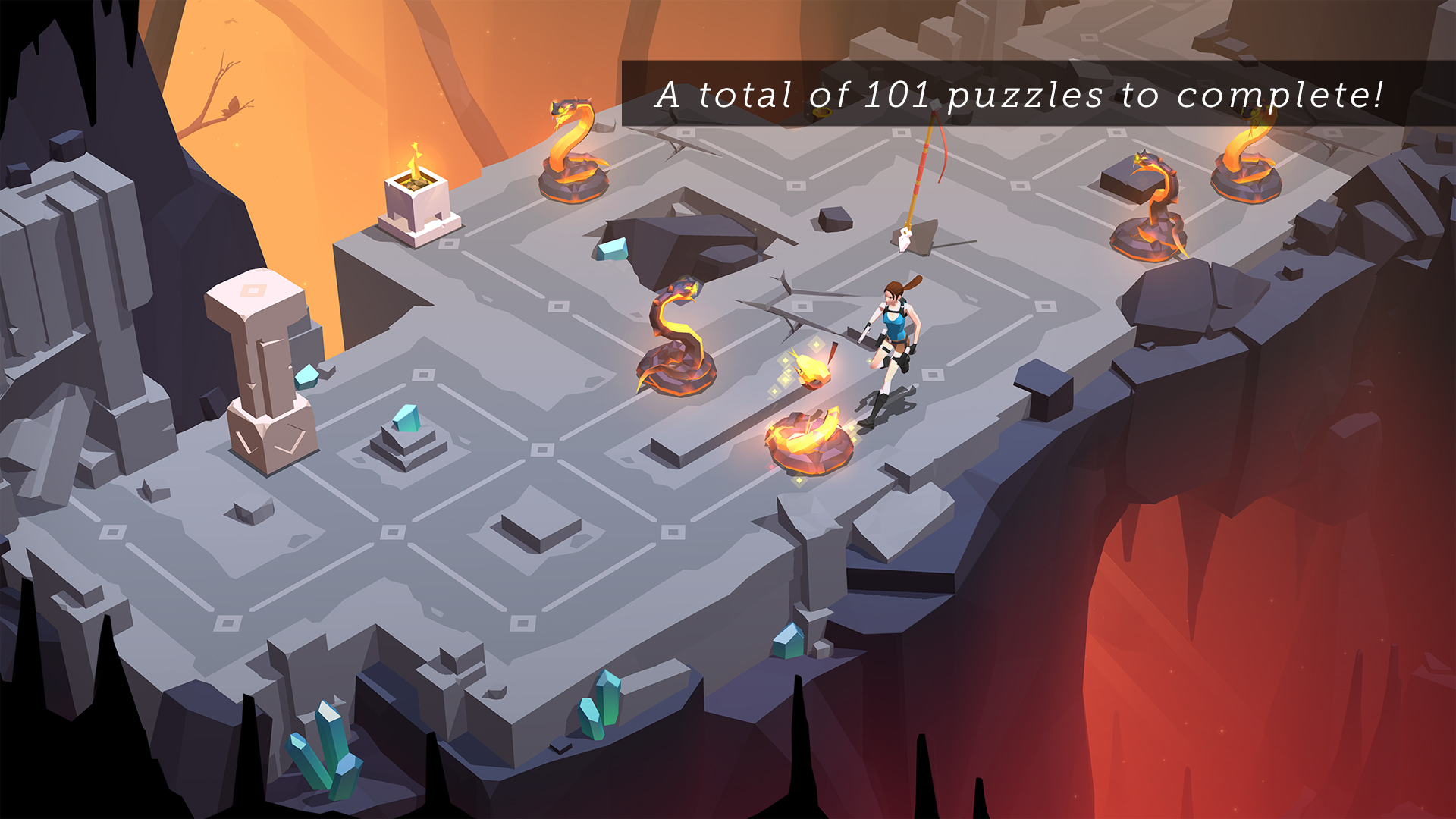 Lara Croft GO screenshot 12