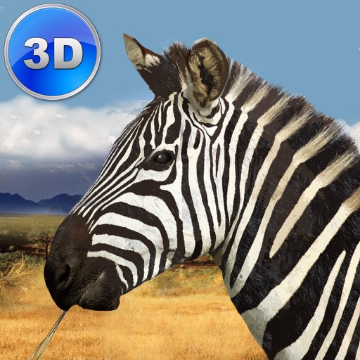 Zebra Simulator 3D - African Horse Survival icon