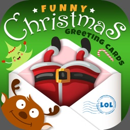 Funny Christmas Cards Designer With Greetings