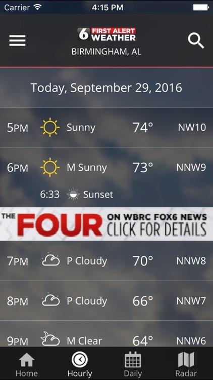 WBRC First Alert Weather screenshot-3