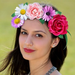 Flower Wedding Crown Hairstyle Cool Photo Editor