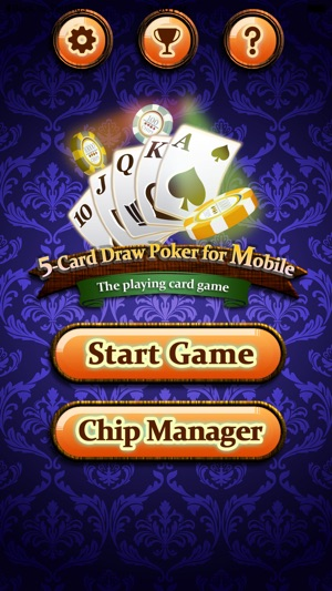 5 Card Draw Poker For Mobile On The App Store