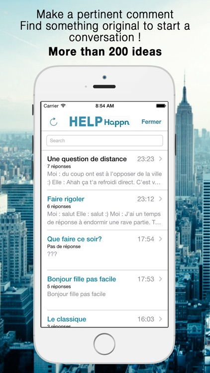 Help for Happn - App. not affiliate with the trademark Happn®