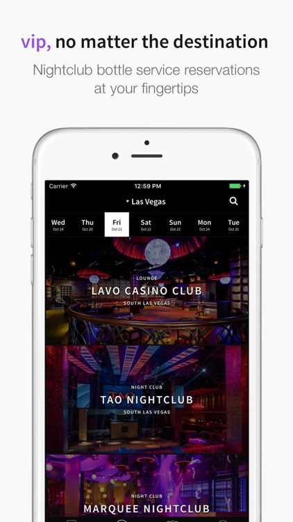 BottlesTonight: Bottle Service, Tickets, Concierge screenshot-0