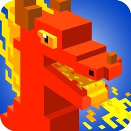 Dragon Pixel Craft - Battle & City builder games
