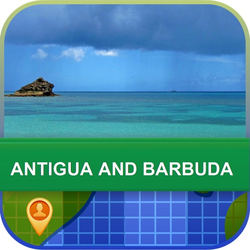 Antigua and Barbuda Map - World Offline Maps icon