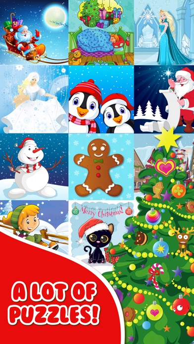 screenshot 10 for christmas jigsaw puzzles free for toddlers kid