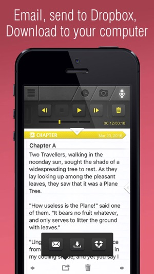 Writer: Write A Book, write a story on the App Store