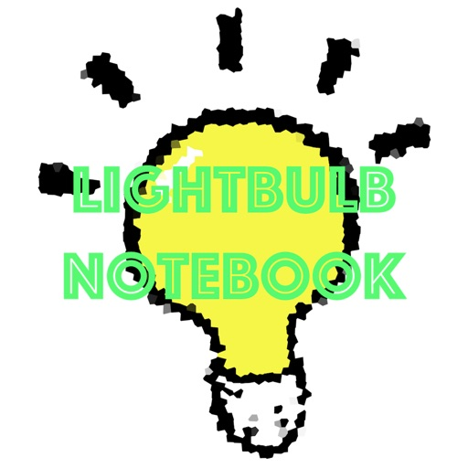 Lightbulb Notebook iOS App