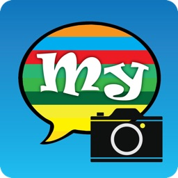 My color text – fast message with your photo, textures, animations