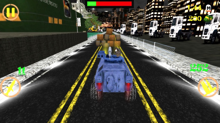 Crazy Tank Death Race 3D : Road Riot Combat Racing screenshot-4