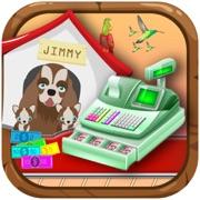 Cute Pets Store Cash Register - Supermarket POS