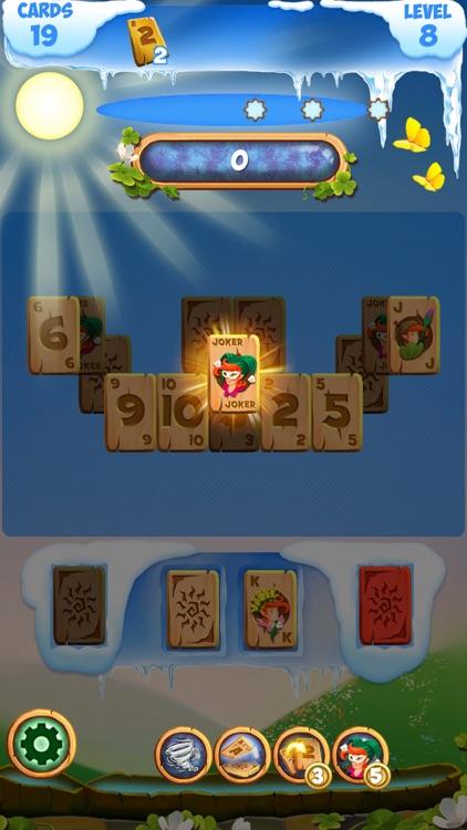 Solitaire Frozen Fairy Tales: Tripeaks Card Game screenshot-4