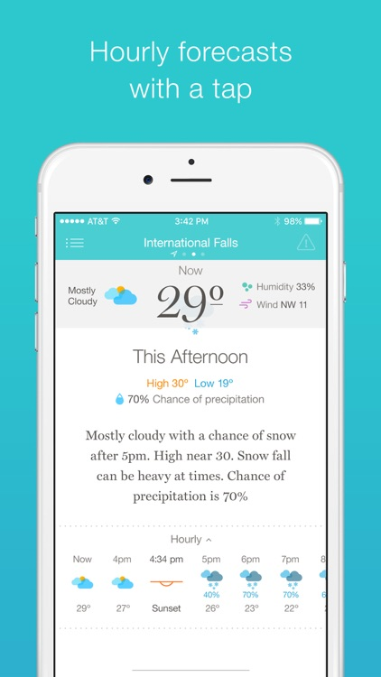 Weather Simple – Clear, concise forecasts