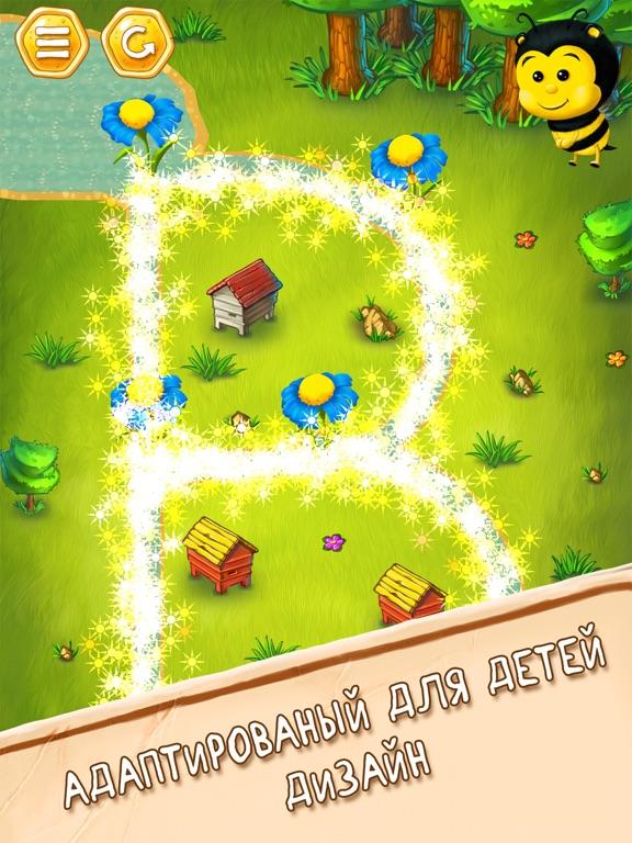 Игра Пчела Вик - английский алфавит и няшный букварь