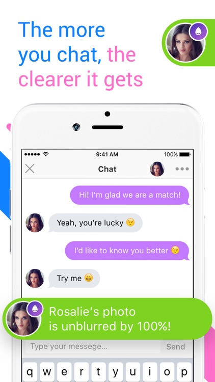Unblur Me - US dating chat with strangers, women screenshot-3