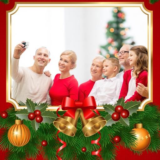 creative christmas hd photo frames fx editor app logo