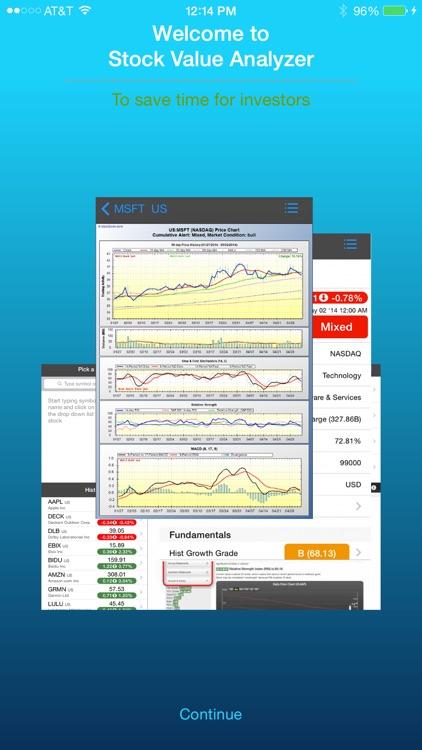 Stock Value Analyzer Pro screenshot-0