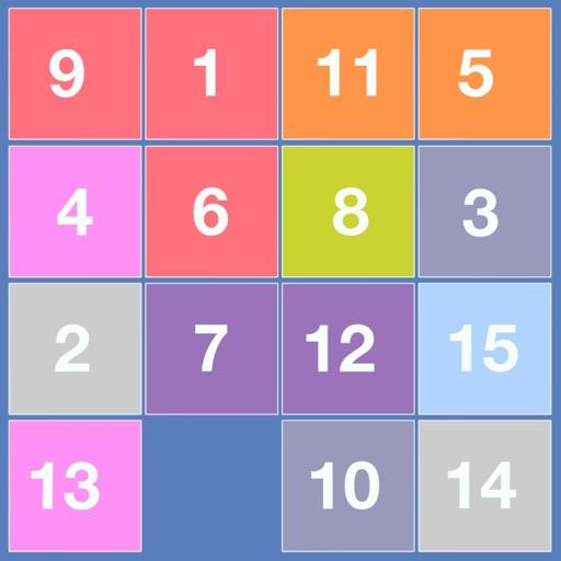4x4 Sliding Number Puzzle