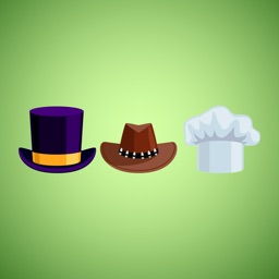 Hat Stickers for iMessage
