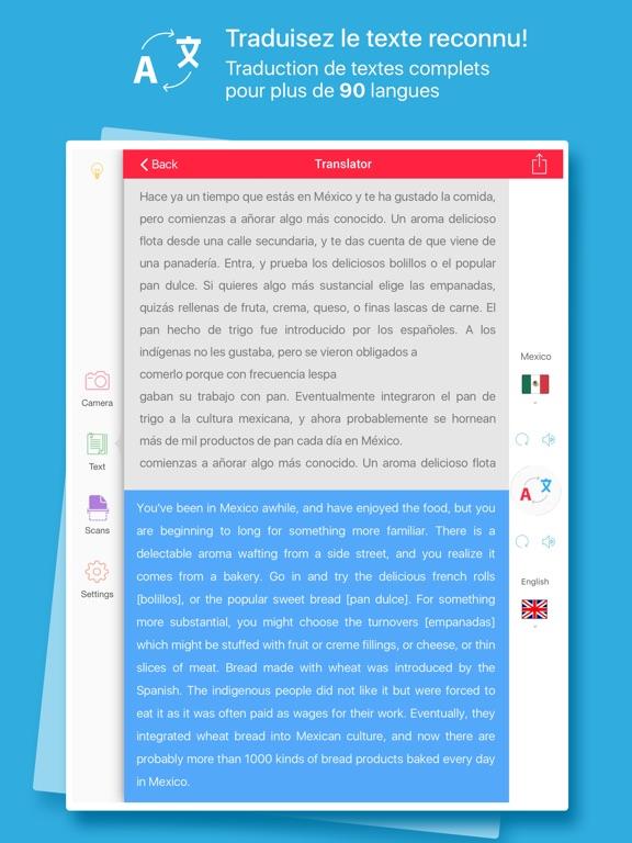 Screenshot #5 pour Scanner et Traducteur – traduction de la photo